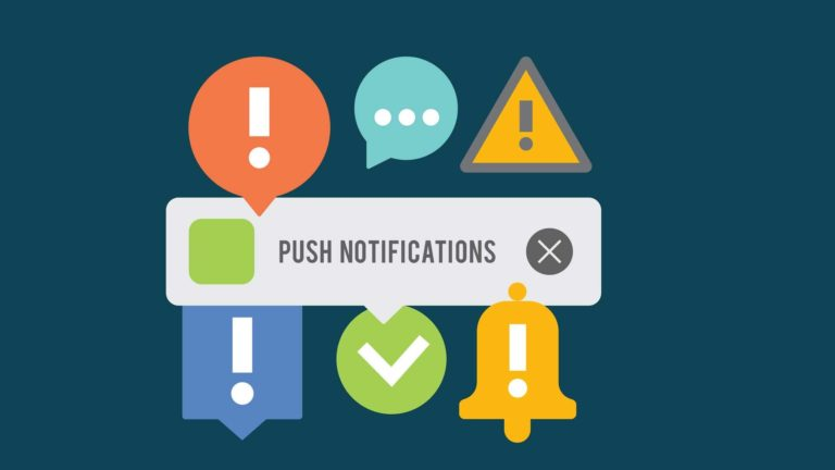 web push notifications