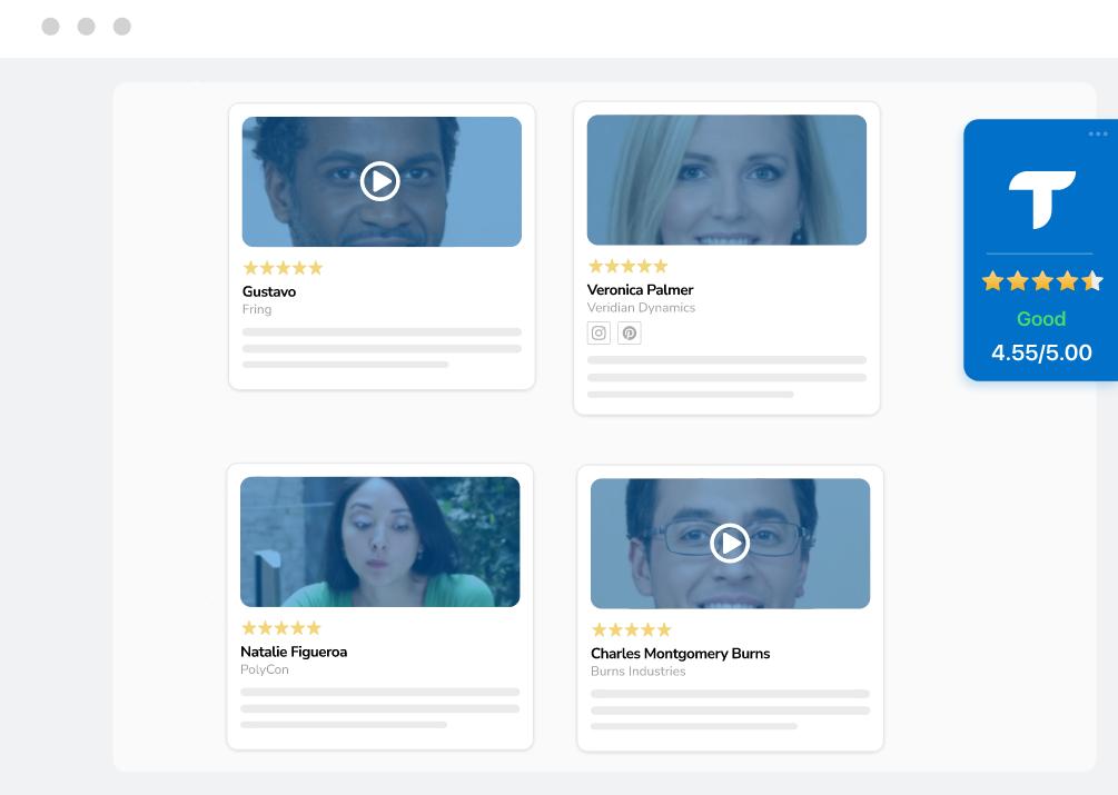 ratings for website